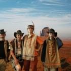 Vier Reicherts auf Weltreise im Hymer Museum