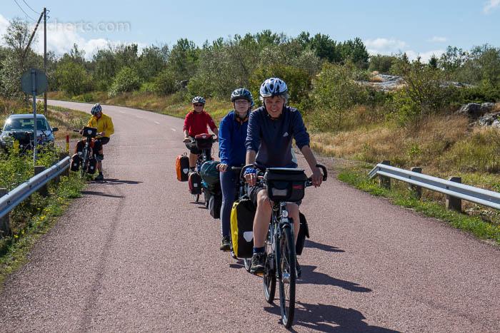 Radfahren auf Aland