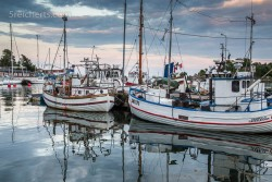 Der Fischerhafen von Grisslehamn