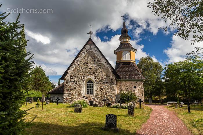 Die Kirche von Kumlinge