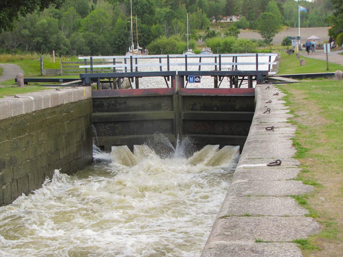 Neues Wasser wird nachgefüllt