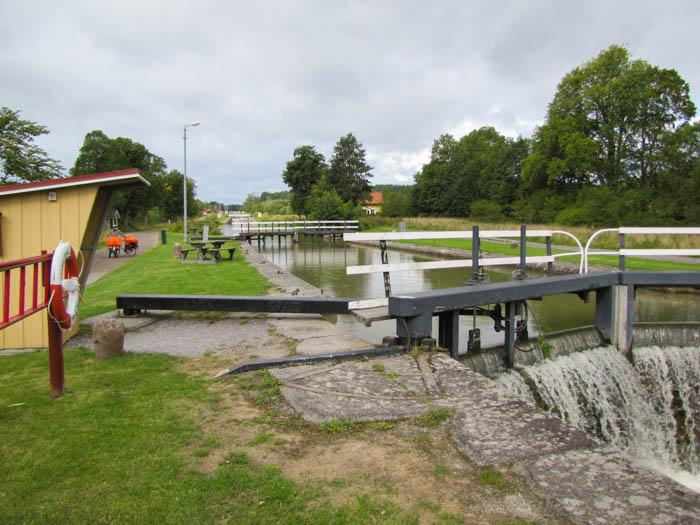 Die Schleusen des Göta-Kanals