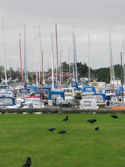 Am Yachthafen von Motala
