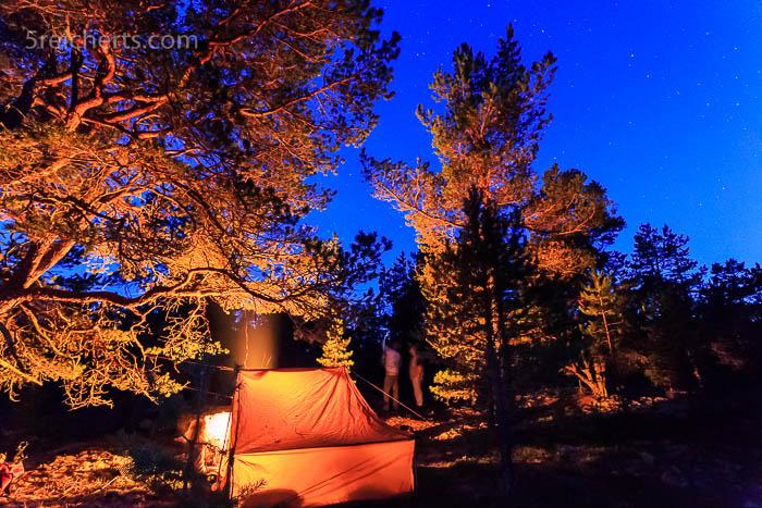 Nachts im Wald, Limparland, Aland