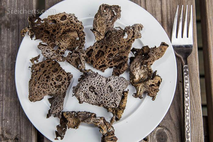 Eine Art Pilz