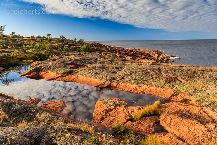 Die Felsenküste von HavsVidden