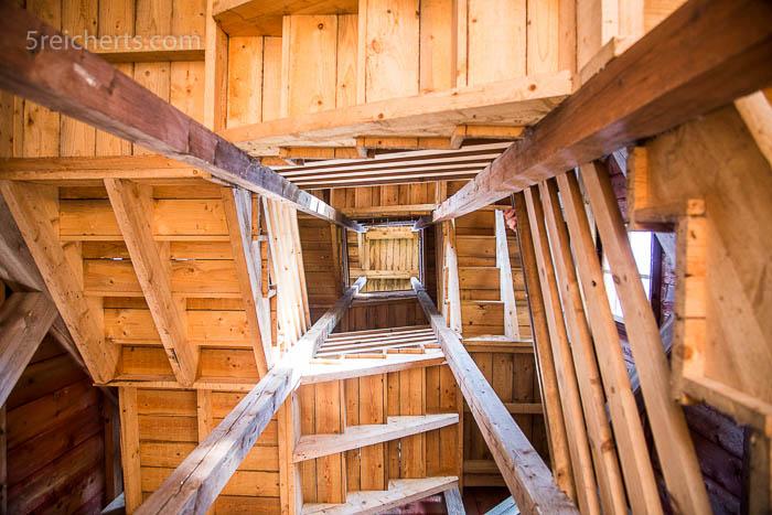 Im Innern des Turms
