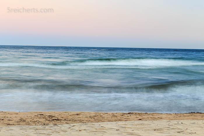 Nach Sonnenuntergang am Strand von Degersand, Aland