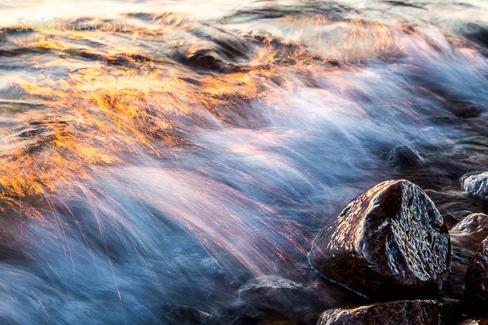 Fels und Welle