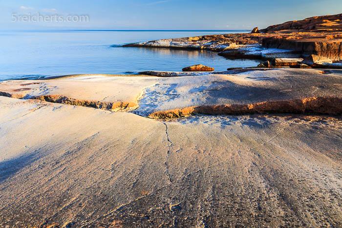 Salz auf den Felsen, Aland