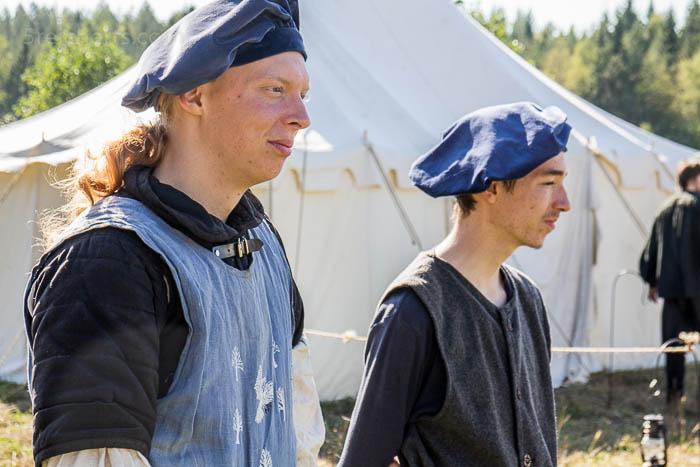 Aron und Noah beim LARP