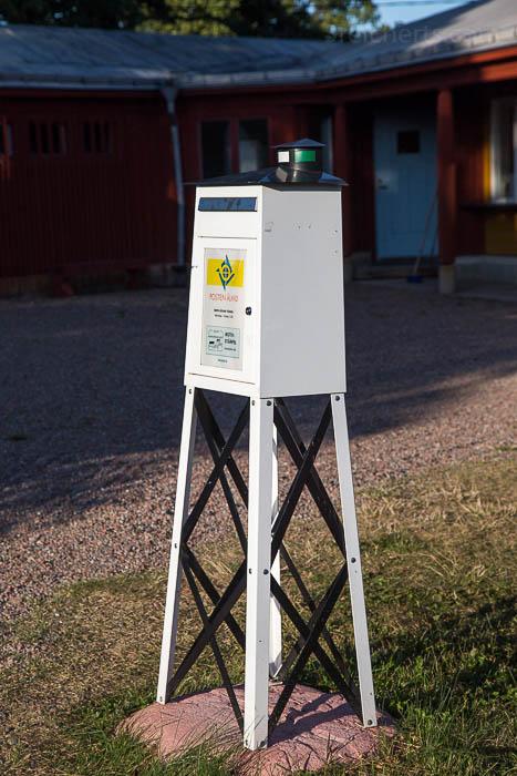 Postkasten auf Aland