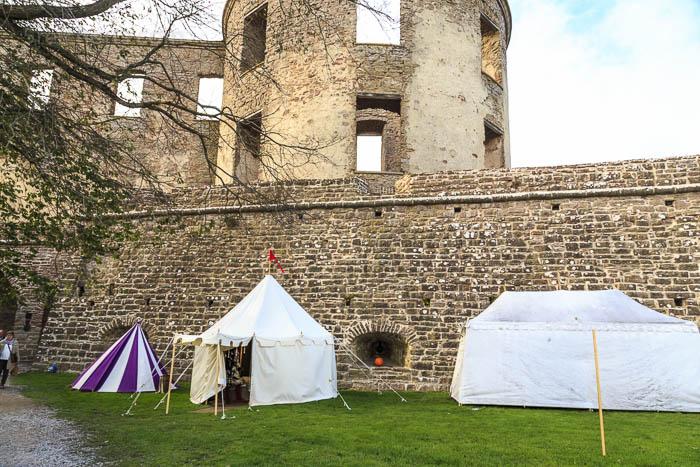 im Borgholme Schloss