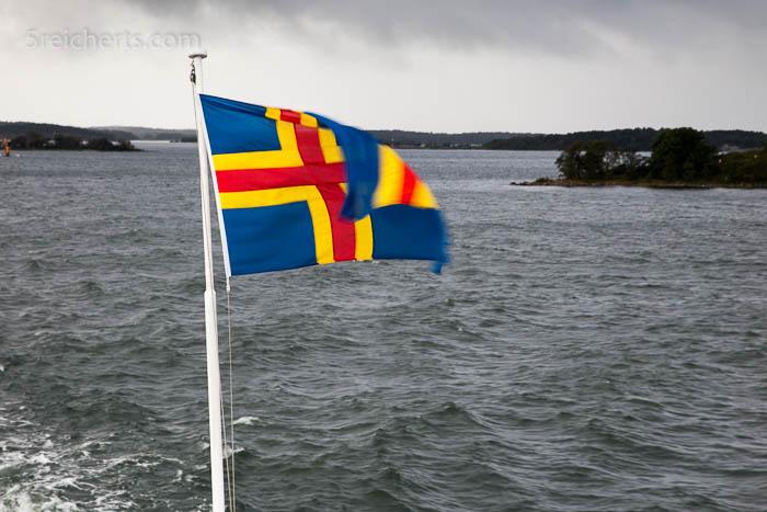 Aland Flagge