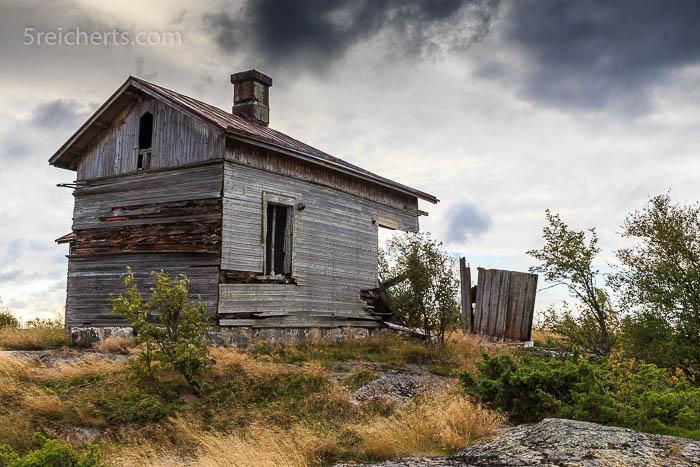 Die ehemalige Unterkunft des Lotzen