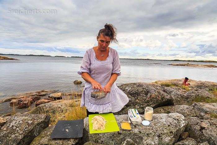 Katri paniert die grätenfreien Filets