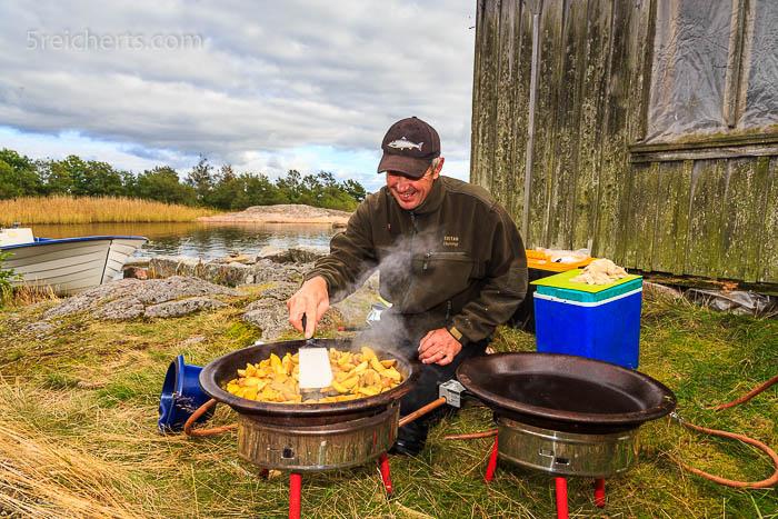 frische leckere Aland Kartoffeln