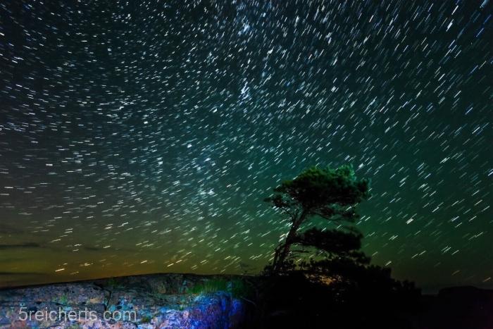 Sternenhimmel über Aland