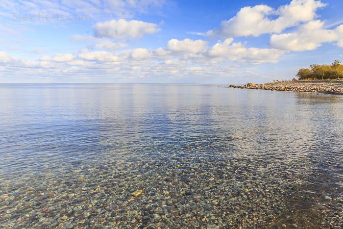 klares Wasser, Sonnenschein, der Kalmarsund