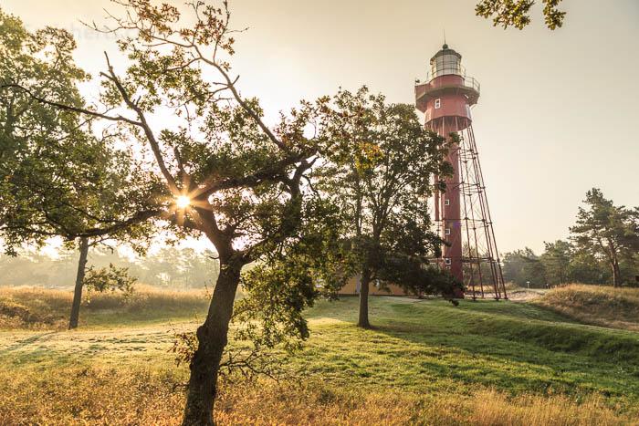 Morgenlicht am Leuchtturm von Sandhammaren
