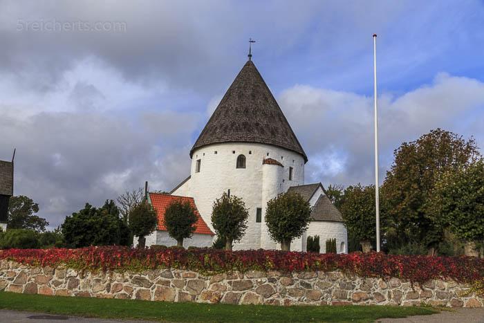 Die Rundkirche Ols Kirke, Bornholm