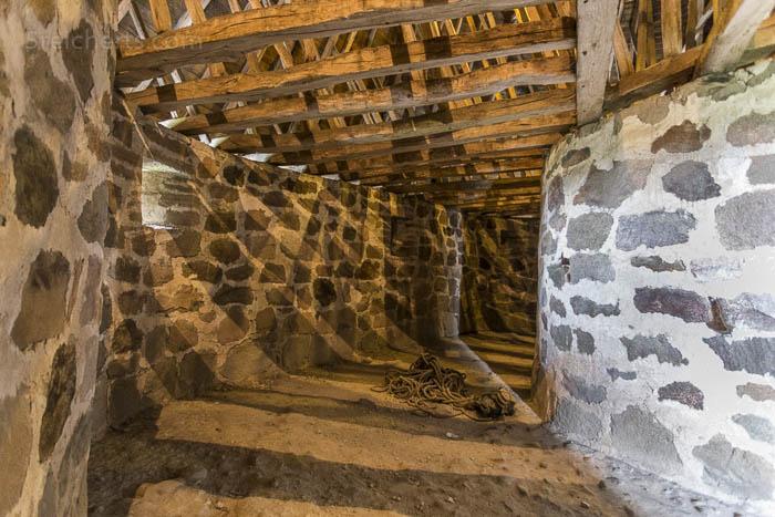 Im Innern der Osterlas Kirke