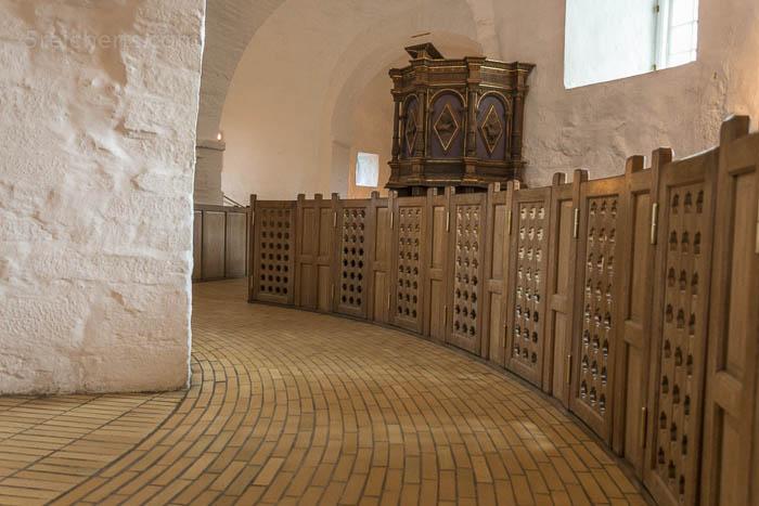 Im Innern der Rundkirche