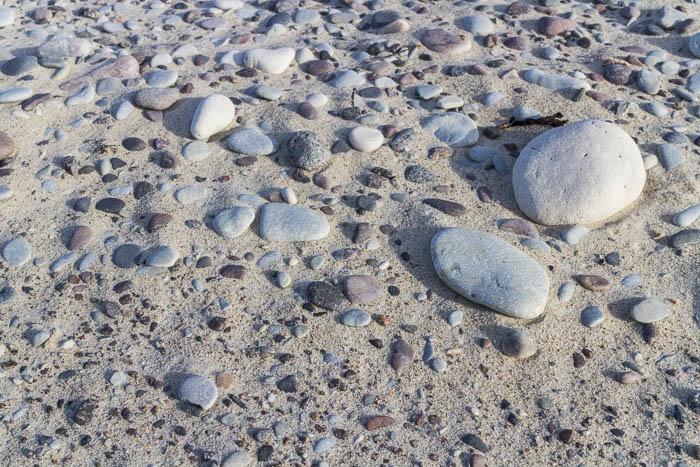 trockene Steine
