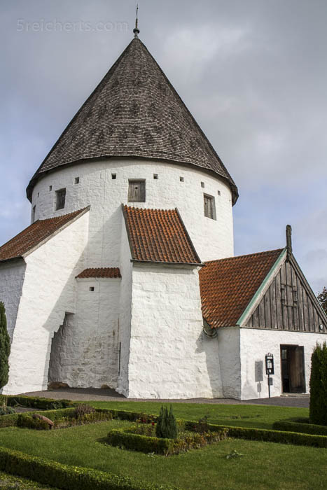 Detail der Ols Kirke, Bornholm