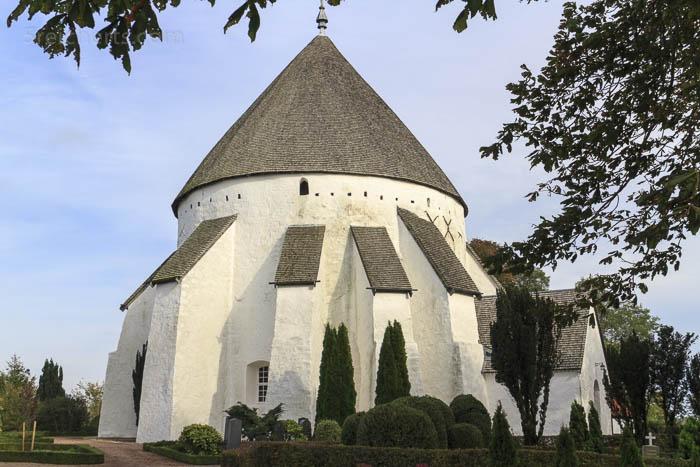 Die Osterlars Kirche von Bornholm