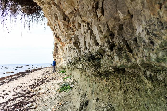 markante Steilküste