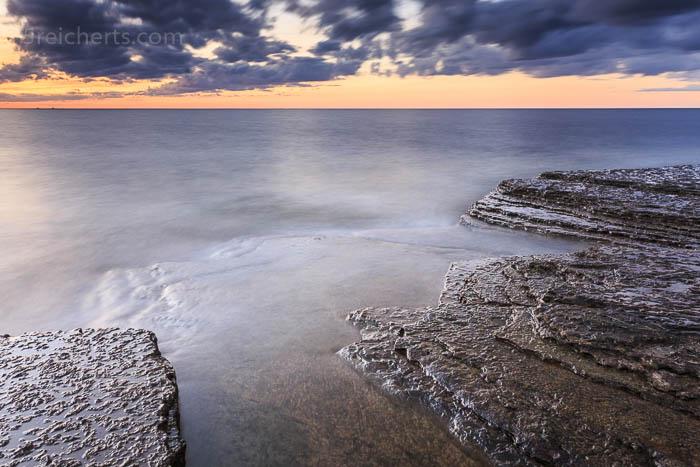 Wolken, Wasser, Felsen