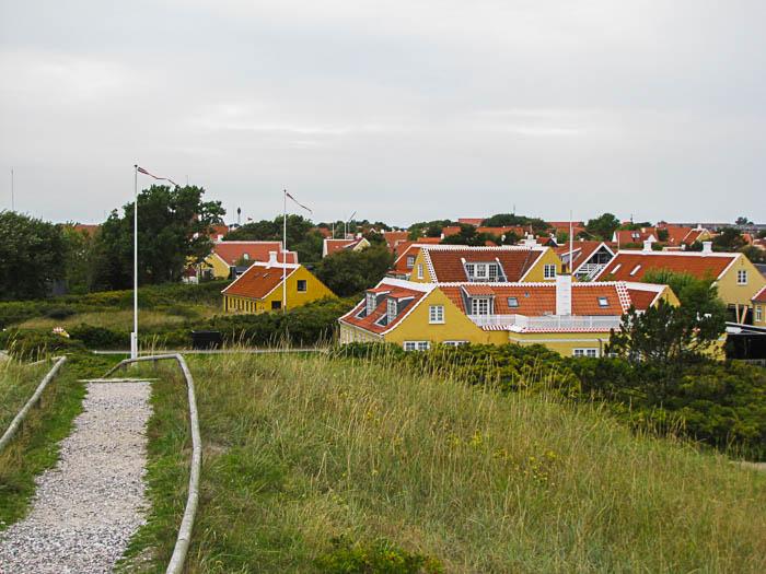 In Skagen sehen sich alle Häuser sehr ähnlich.