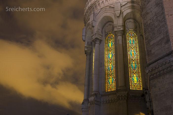 Die Fenster der Notre Dame de Fourvière