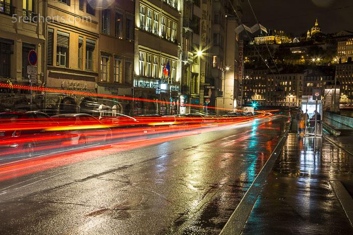 Spärlicher Verkehr während des Lichterfestes