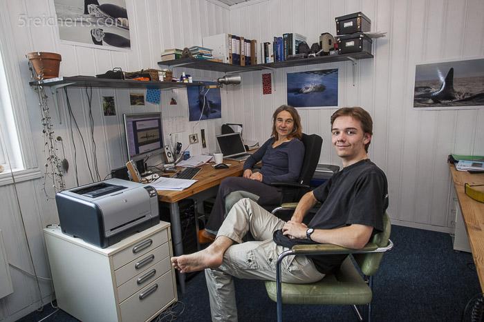 Die Walforscherin Heike Vester brachte mir enorm viel über maritime Biologie bei.