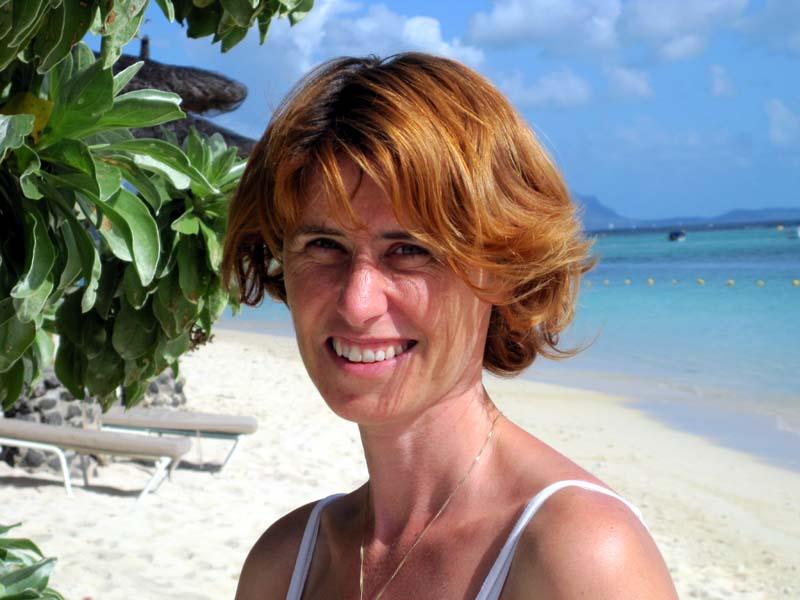 Die Autorin Christine Sinterhauf