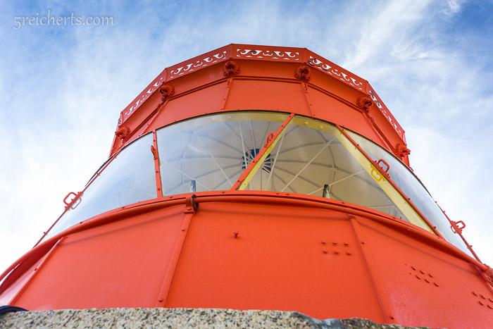Die Spitze des Leuchtturm Goulphars