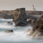 Wellen am Pointe de Poulains, Langzeitbelichtung