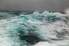 Wellen, auf der Fähre zur Île de Sein