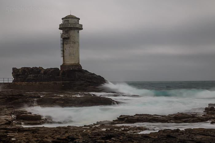 Einer der Leuchttürme der Insel