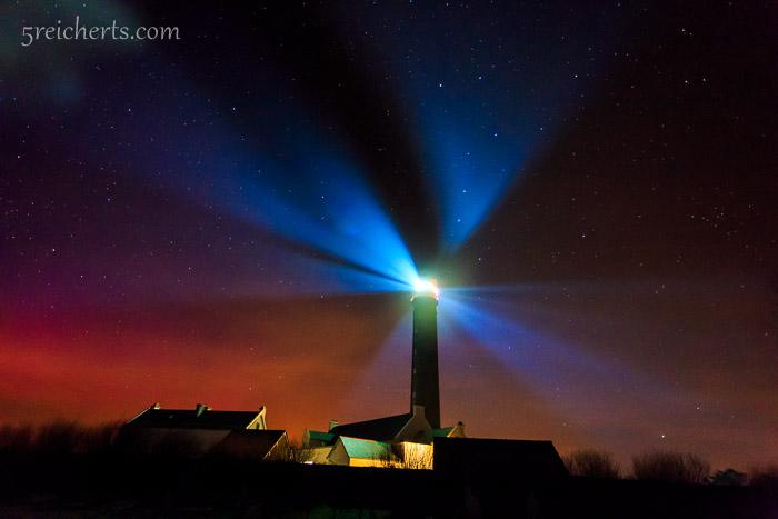 Grand Phare und Nordlicht, Belle Ile