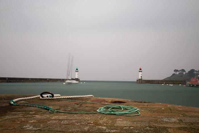 Im Hafen von Le PalaisIm Hafen von Le Palais