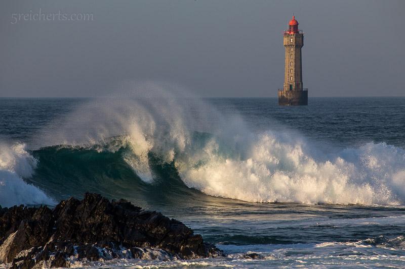 La Jument und Welle, früh am Morgen