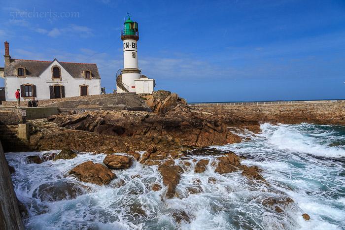 Leuchtturm im Hafen, Île de Sein