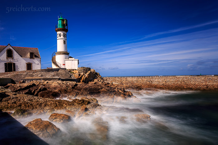 Leuchtturm im Hafen, Leuchtturm Men Brial