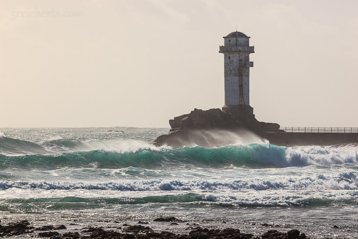Der alte Leuchttum zum offenen Meer, Île de Sein