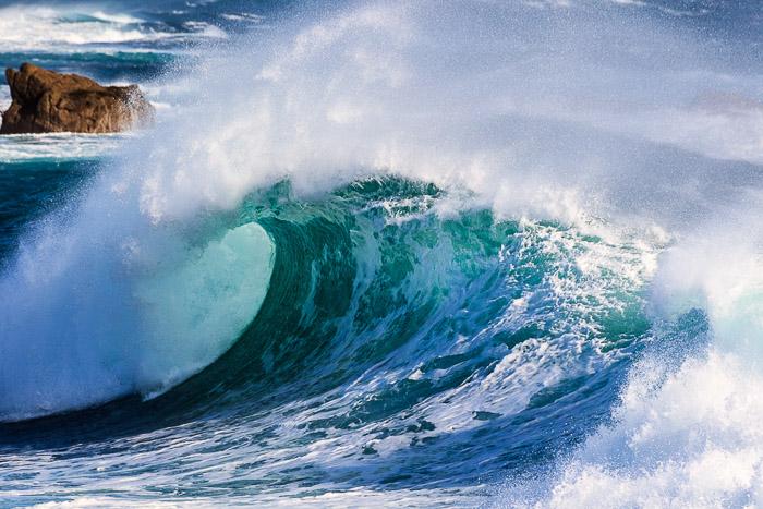 wunderschöne Welle