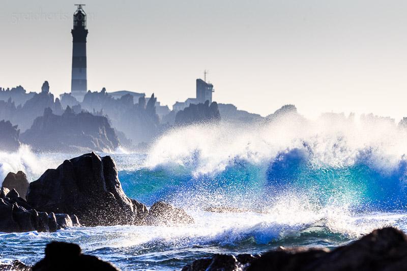 Wellen und Phare de Creac'h
