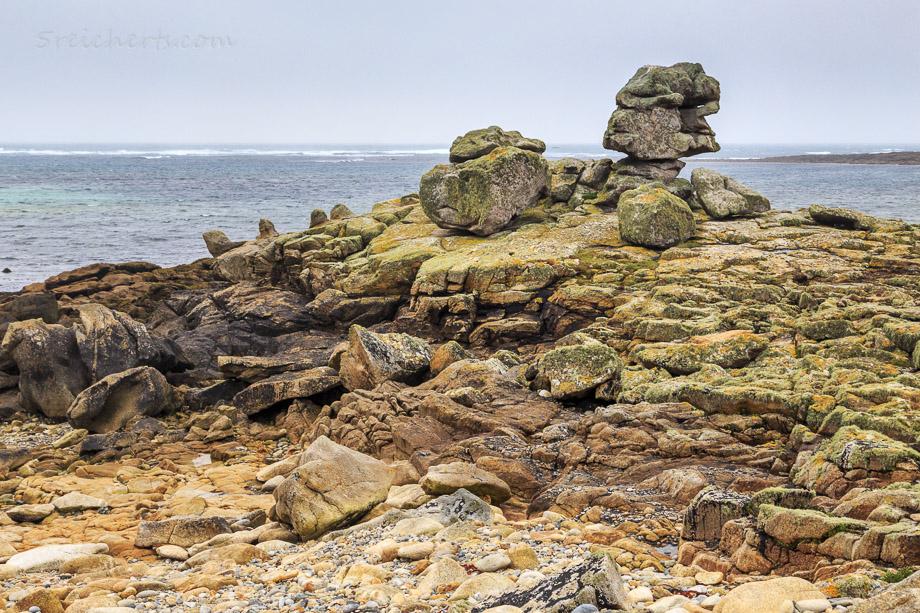 Felsen auf der Ile de Sein